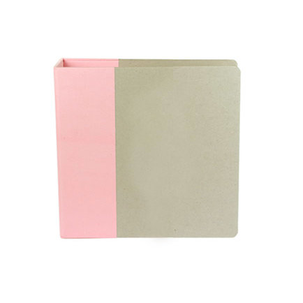 American Crafts - Modern Album - Customizable 8.5x11 D-Ring Album - Light Pink