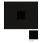 American Crafts - Corduroy Album - 12x12 D-Ring Album - Black