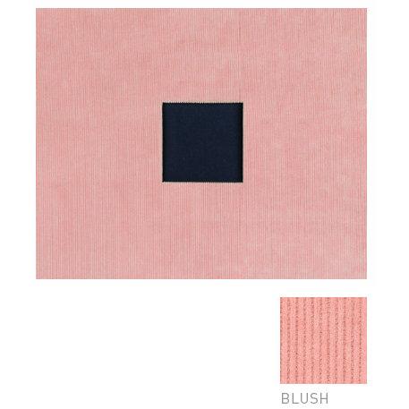 American Crafts - Corduroy Album - 12x12 D-Ring Album - Blush