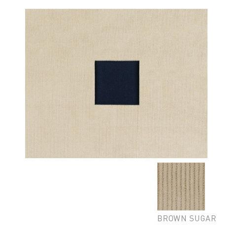 American Crafts - Corduroy Album - 12x12 D-Ring Album - Brown Sugar