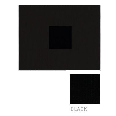 American Crafts - Corduroy Album - 8x8 D-Ring Album - Black