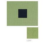 American Crafts - Corduroy Album - 8x8 D-Ring Album - Leaf