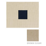 American Crafts - Corduroy Album - 8x8 D-Ring Album - Brown Sugar