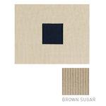 American Crafts - Corduroy Album - 8x8 D-Ring Album - Brown Sugar