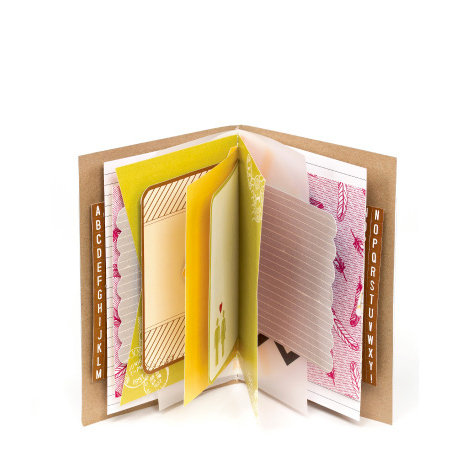 American Crafts - Amy Tangerine Collection - Mini Book - The Little Things