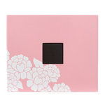 American Crafts - Patterned Album - 12 x 12 D-Ring - Blush Flower