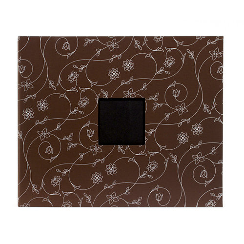 American Crafts - Patterned Album - 12 x 12 D-Ring - Chestnut Vines