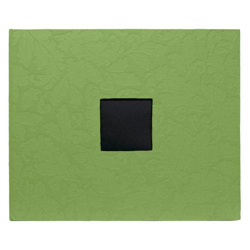 American Crafts - Patterned Album - 12 x 12 D-Ring - Embossed Leaf Damask