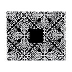 American Crafts - Patterned Album - 12 x 12 D-Ring - Black and White Damask