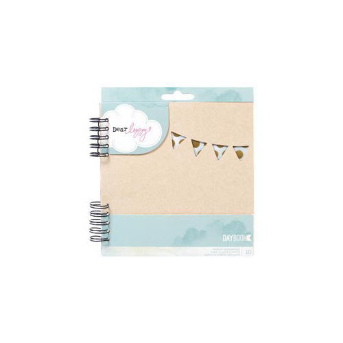 American Crafts - Dear Lizzy 5th and Frolic Collection - Daybook - Spiral - Happy Way