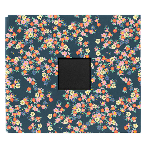 American Crafts - Dear Lizzy Lucky Charm Collection - Patterned Cloth Album - 12 x 12 D-Ring
