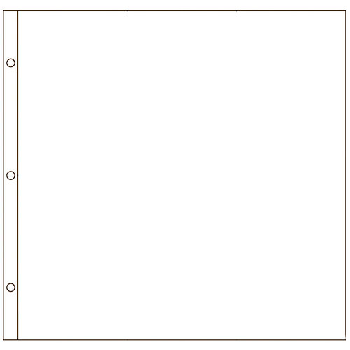 American Crafts - Page Protectors - 12 x 12 - 10 Pack
