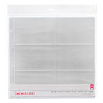 American Crafts - 12 x 12 Page Protectors with 4 x 6 Photo Pockets - 10 Pack