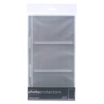 American Crafts - 6 x 12 Photo Protectors for 4 x 6 Photos - Horizontal - 10 Pack