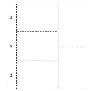 American Crafts - Page Protectors - 10 x 12 - 10 Pack