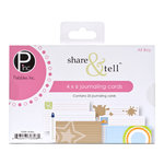 American Crafts - Pebbles - Share and Tell Collection - Journaling Cards - All Boy
