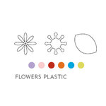 American Crafts - Greenhouse - Flowers - Plastic, CLEARANCE