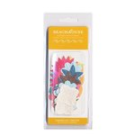 American Crafts - Heat Wave Collection - BeachHouse - Paper Flowers with Glitter Accents, CLEARANCE