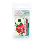 American Crafts - Dear Lizzy Christmas Collection - Bits - Reinforced Tags