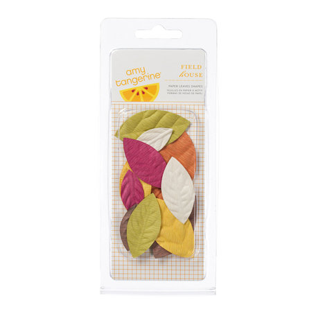 American Crafts - Amy Tangerine Collection - Paper Leaves
