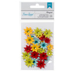 American Crafts - Flower Shoppe - Decorative Flowers - Margriet - Brights
