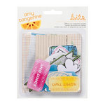 American Crafts - Amy Tangerine Collection - Sketchbook - Bits - Die Cut Cardstock Pieces - Shapes