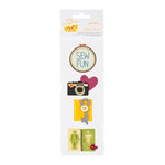 American Crafts - Amy Tangerine Collection - Details - Felt Pieces - Nothin' But Fun