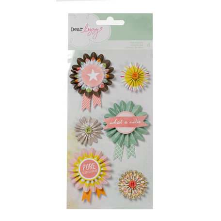 American Crafts - Dear Lizzy Neapolitan Collection - Fair Ribbons