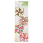 American Crafts - Dear Lizzy Neapolitan Collection - Pinwheels
