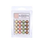 American Crafts - Botanique Collection - Pearl Brads - Assorted, CLEARANCE