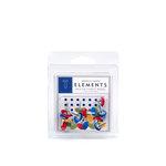 American Crafts - Fabric Brads - Junior - Medium, CLEARANCE