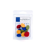 American Crafts - Fabric Brads - Junior - Large, CLEARANCE