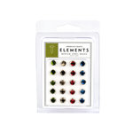 American Crafts - Jewel Brads - Earth Tones - Medium, CLEARANCE