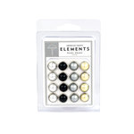 American Crafts - Pearl Brads - Elegant - Large, CLEARANCE