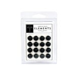 American Crafts - Pearl Brads - Black - Large, CLEARANCE