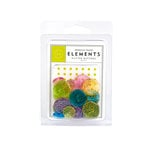 American Crafts - Glitter Buttons - Brights, CLEARANCE