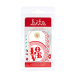 American Crafts - Love Collection - Bits - Reinforced Tags, CLEARANCE