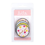 American Crafts - Hello Sunshine Collection - Bits - Reinforced Tags - Round