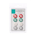 American Crafts - Hollyday Collection - Christmas - Buttons