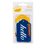 American Crafts - Amy Tangerine Collection - Ready Set Go - Bits - Layered Tags