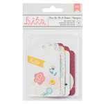American Crafts - My Girl Collection - Bits - Layered Tags