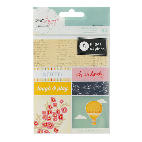 American Crafts - Lucky Charm Collection - Bits - Perforated Book