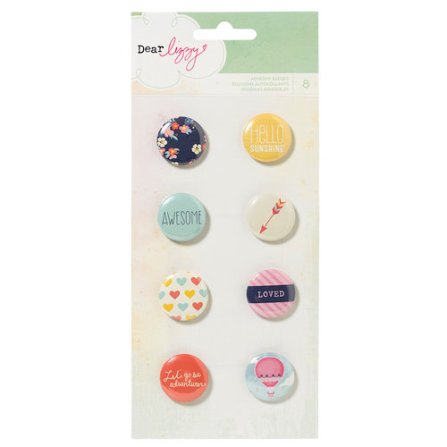 American Crafts - Dear Lizzy Lucky Charm Collection - Flair - Stickers