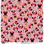 EK Success - Disney Collection - 12 x 12 Single Sided Paper - Minnie Pink