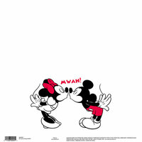EK Success - Disney Collection - 12 x 12 Single Sided Paper - Mickey MWAH