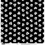 EK Success - Disney Collection - 12 x 12 Single Sided Paper - Mickey Black and White Face