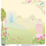 EK Success - Disney Collection - 12 x 12 Single Sided Paper - Princess Castle
