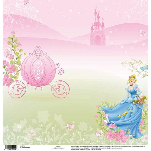 EK Success - Disney Collection - 12 x 12 Single Sided Paper - Cinderella