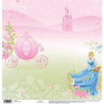 EK Success - Disney Collection - 12 x 12 Single Sided Paper - Cinderella
