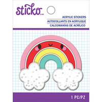 EK Success - Sticko - Puffy Shaker Stickers - Rainbow